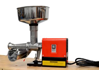 O.M.R.A. Presents the Mini Tomato Milling Machine